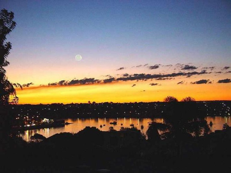 Iron Cove from Francis Street, Lilyfield