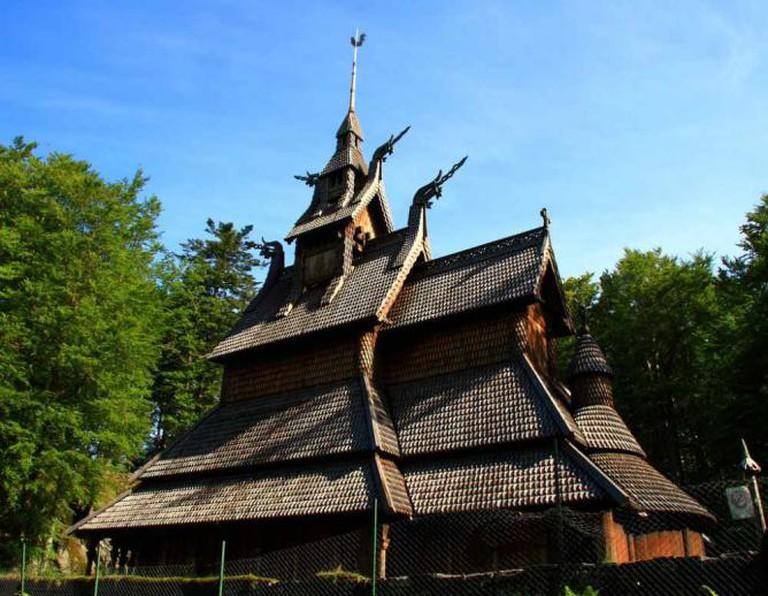 Fantoft Stave Church | © Dal Lu/Flickr