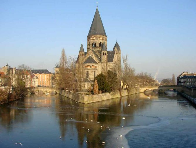 Metz Temple Neuf | © Vassil/WikiCommons