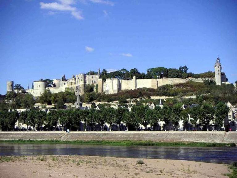 Château de Chinon   © LonganimE/WikiCommons