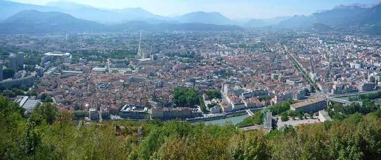 Panorama of Grenoble | © Milky/WikiCommons