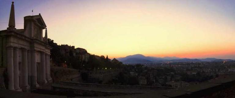 Panorama of Bergamo