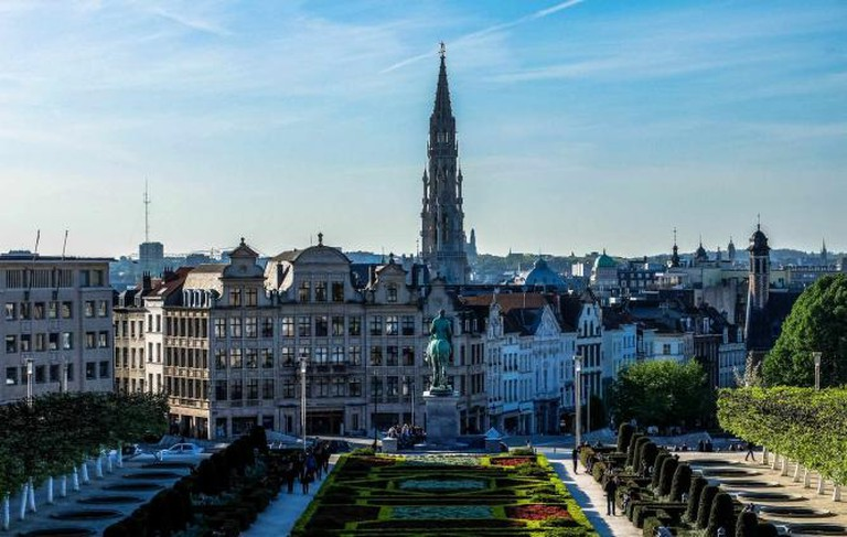 View from Mont des Arts | © Ioanna Sakellaraki