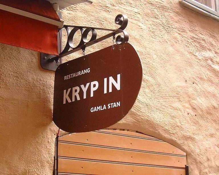 Restaurant Kryp In ©Mats Halldin/Wikicommons