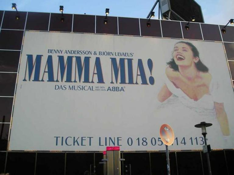 Mamma Mia billboard | © Edgar Zuniga Jr./Flickr