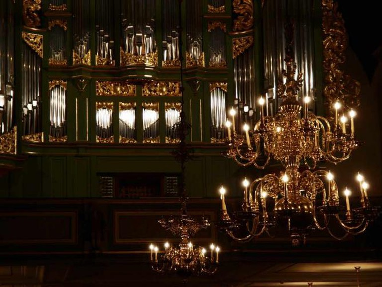 Organ at Oslo Cathedral