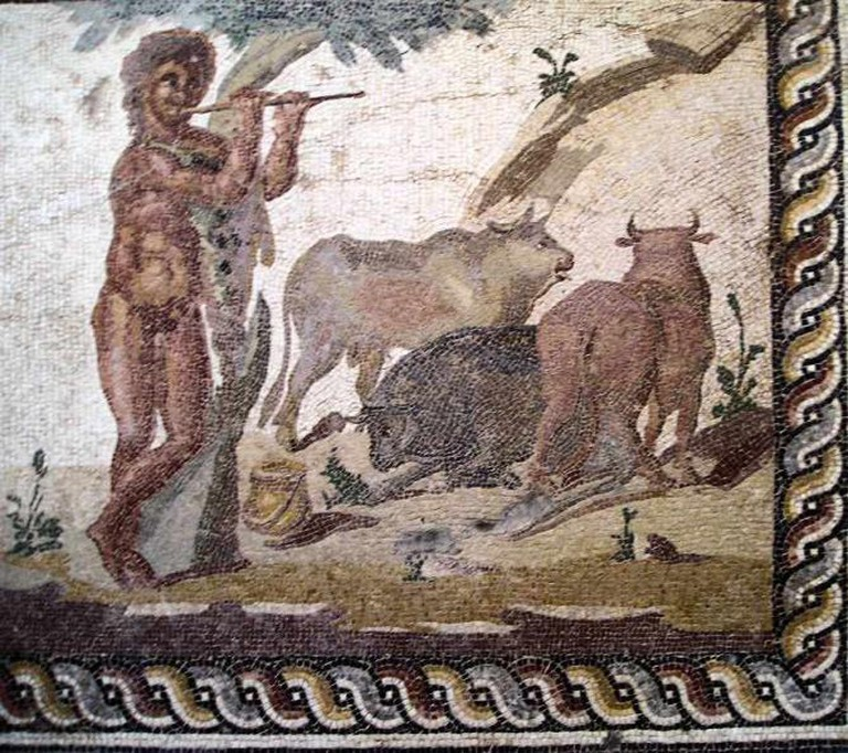 Mural at Corinth
