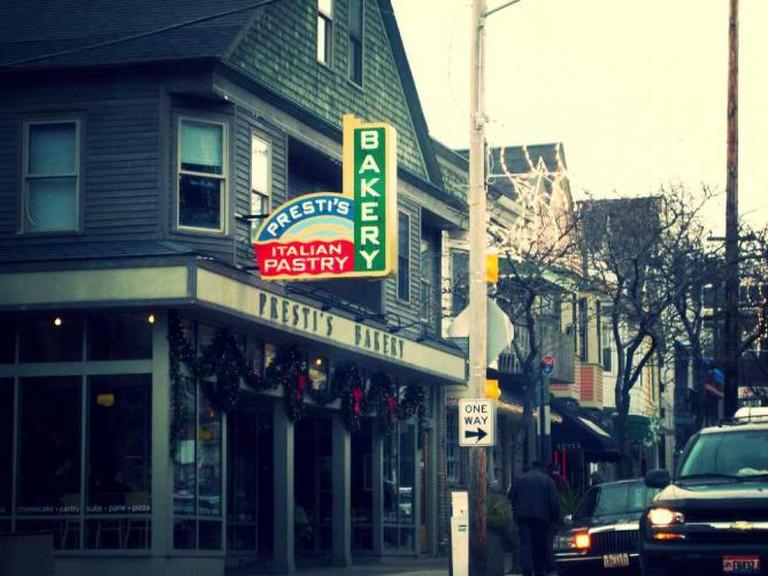 Presti's Bakery © everythingcounts/WikiCommons