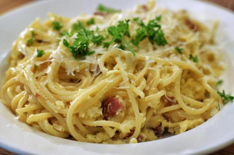 Spaghetti carbonara   © jeffreyw/Flickr