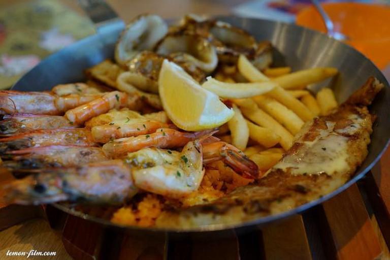 Seafood platter   © Soon Koon/Flickr