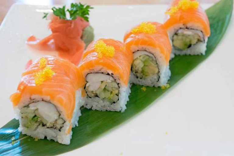 Signature dish at Iwa Sushi & Grill   © Digital Media Northwest/Flickr