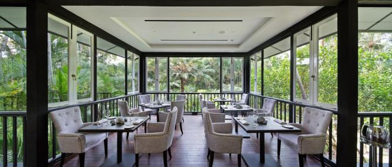 Verandah dining area   Courtesy of Corner House
