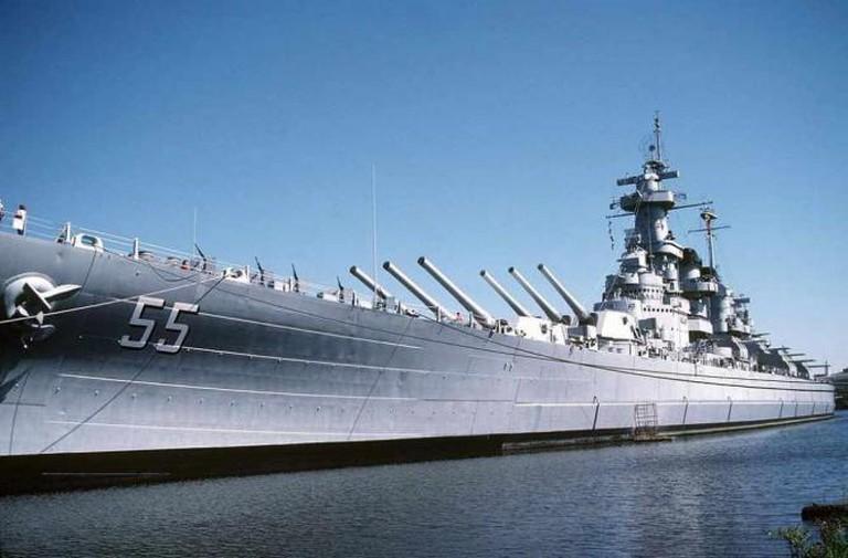 USS North Carolina | © Don S. Montgomery/WikiCommons