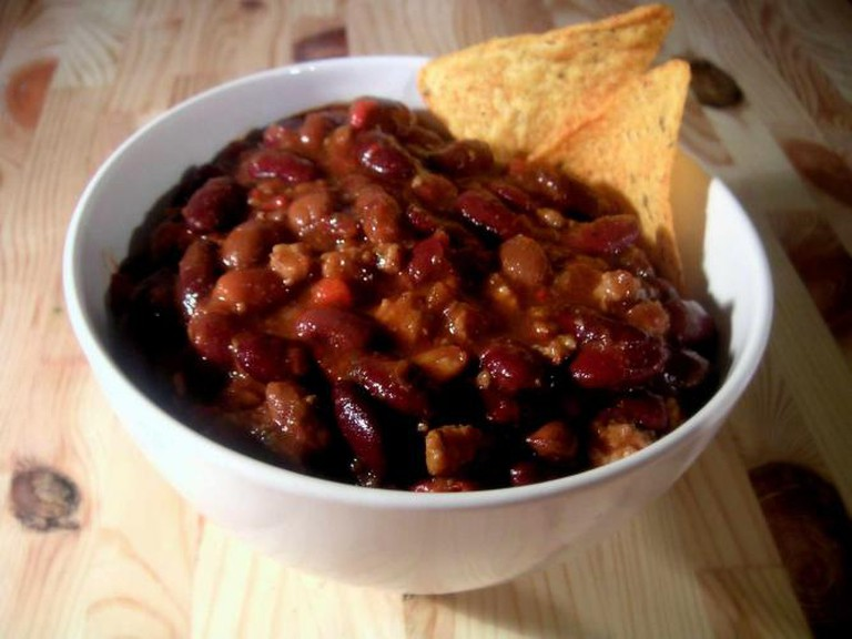 A classic beef and bean chili | © Carstor/WikiCommons