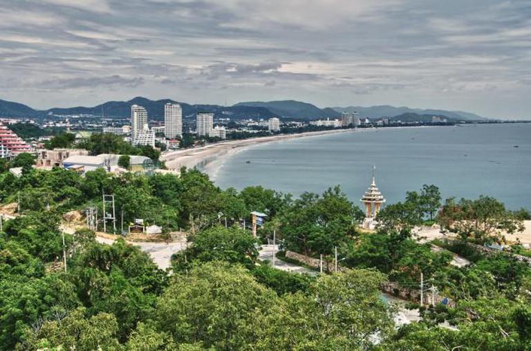 The view of Hua Hin from Khao Takiab © Armand Rajnoch/Flickr
