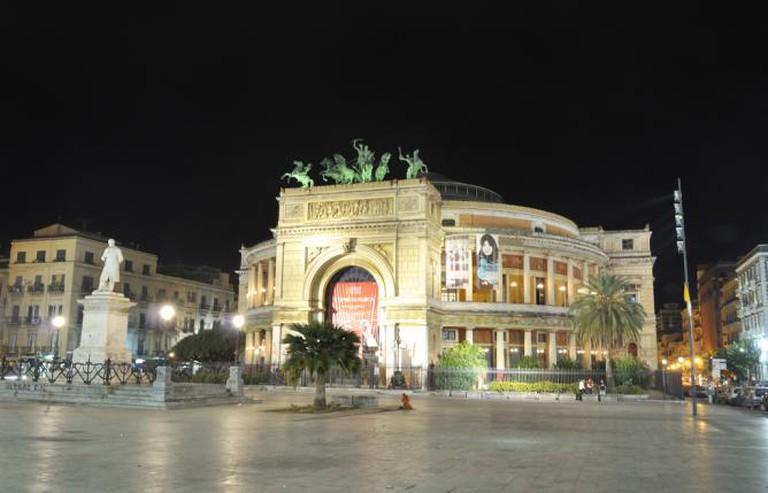 Teatro Politeama, Palermo