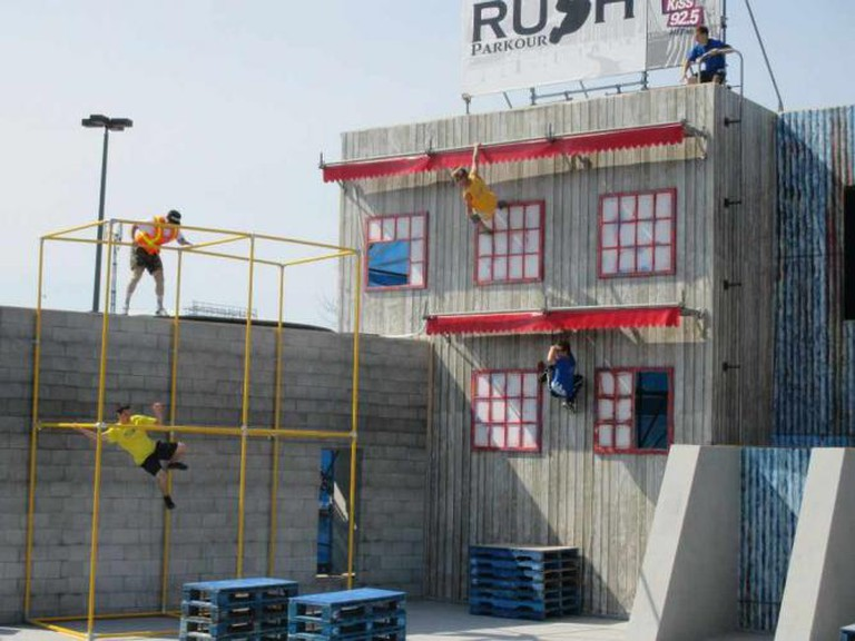 RUSH Parkour Demonstrations © Rebecca Bartley