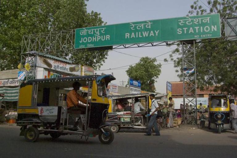 Tuk Tuks at Jodhpur Railway Station
