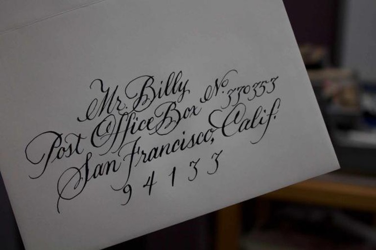 A sample piece from Mr. Billy's workshop | © Megan Cosgrove