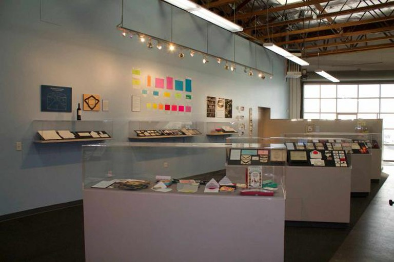 """Several pieces from the Center's """"Be Enveloped!"""" exhibit 