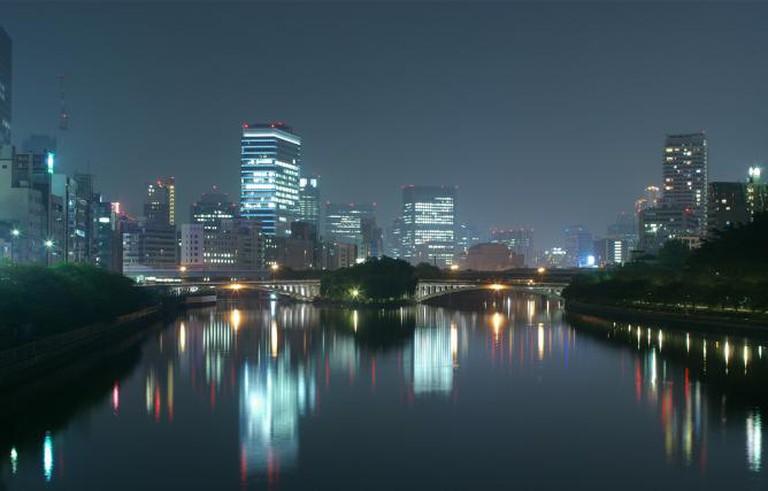 Osaka at night | © hira3/Flickr