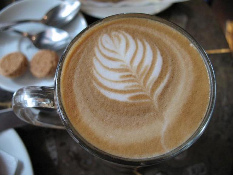 Mocha latte | © Robert Tuck/Flickr