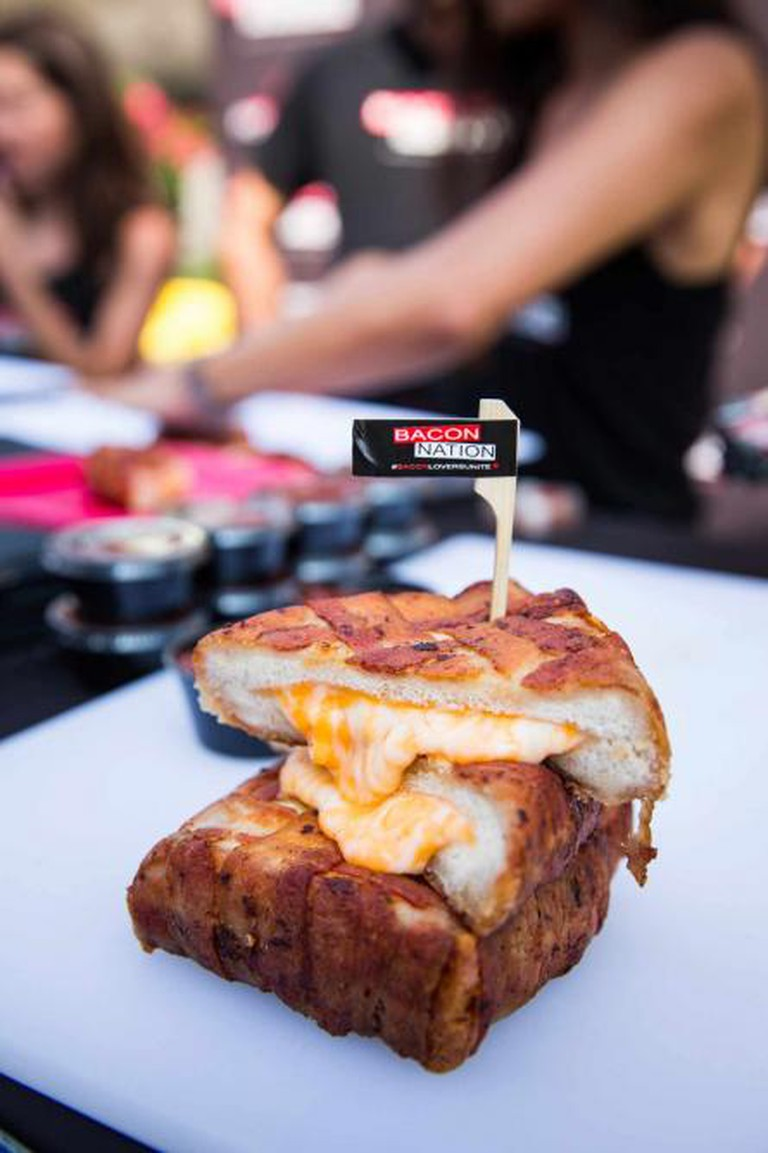 Bacon Wrapper Grilled Cheese | Courtesy of Canadian National Exhibition