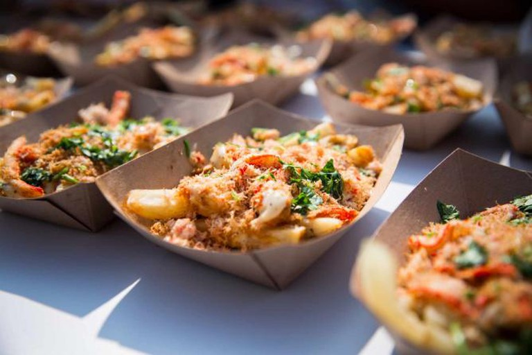 Garlic Snow Crab Fries | Courtesy of Canadian National Exhibition