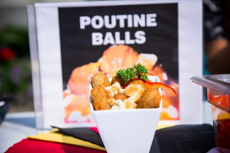 Poutine Balls | Courtesy of Canadian National Exhibition