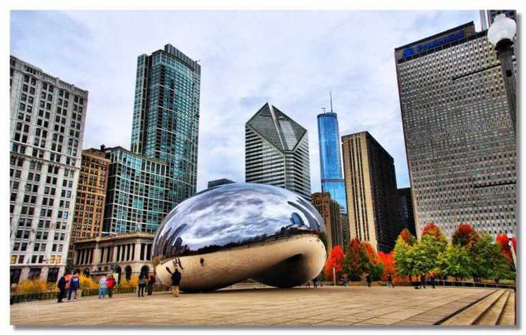 Cloud Gate by Anish Kapoor | © Dhilung Kirat/Flickr