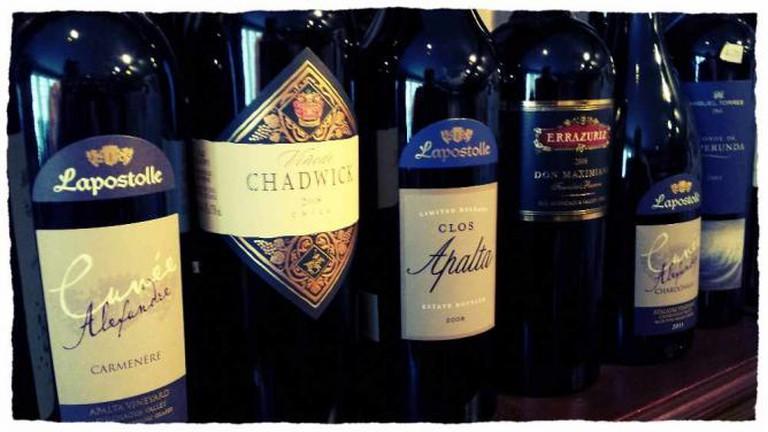 Premium Chilean Red Wines | © Dominic Lockyer/Flickr