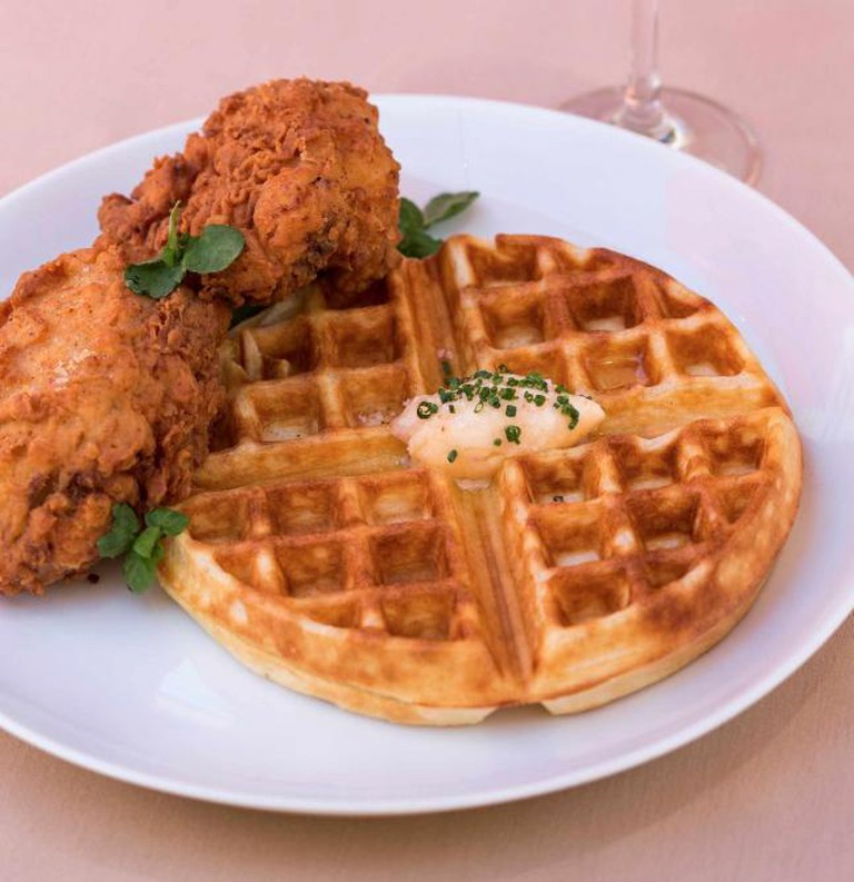 Chicken and Waffles   © 1313 Main