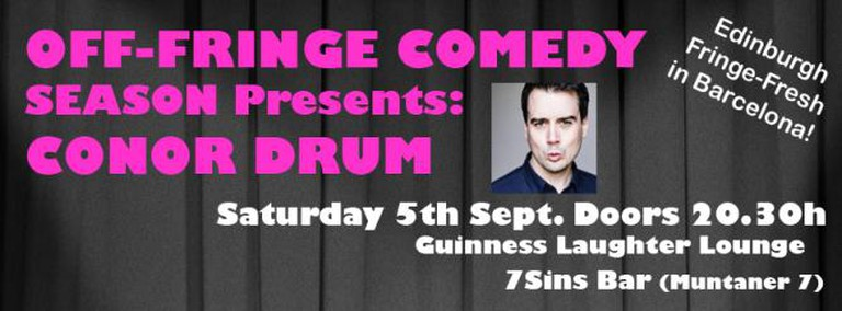 Conor Drum @ 7Sins Bar | Courtesy of Guinness Laughter Lounge