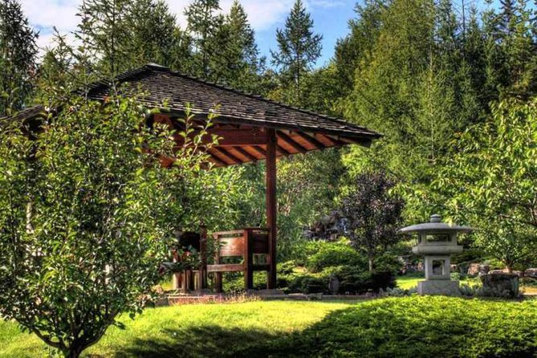 Japanese Garden Devonian Botanic Garden Edmonton Alberta Canada 15A
