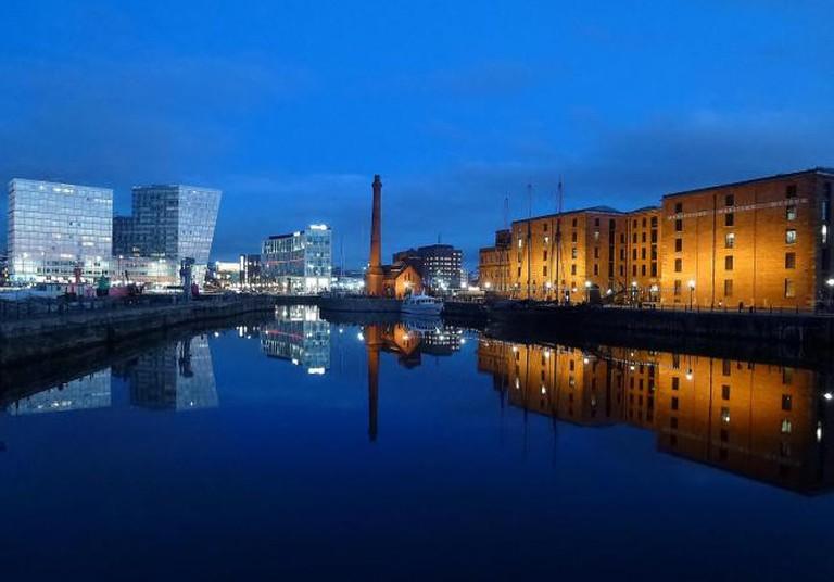 Albert Dock and Canning Half Tide Dock Liverpool | © Radarsmum67/Flickr