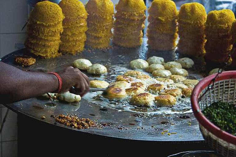 Tikki & Basket Chaat   © Shashwat Nagpal/Flickr