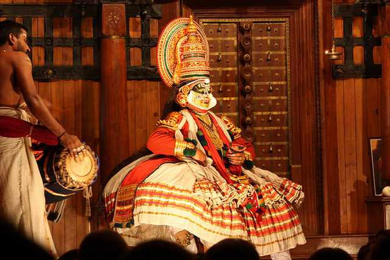 Kochi, Kathakali performance | © Arian Zwegers/Flickr