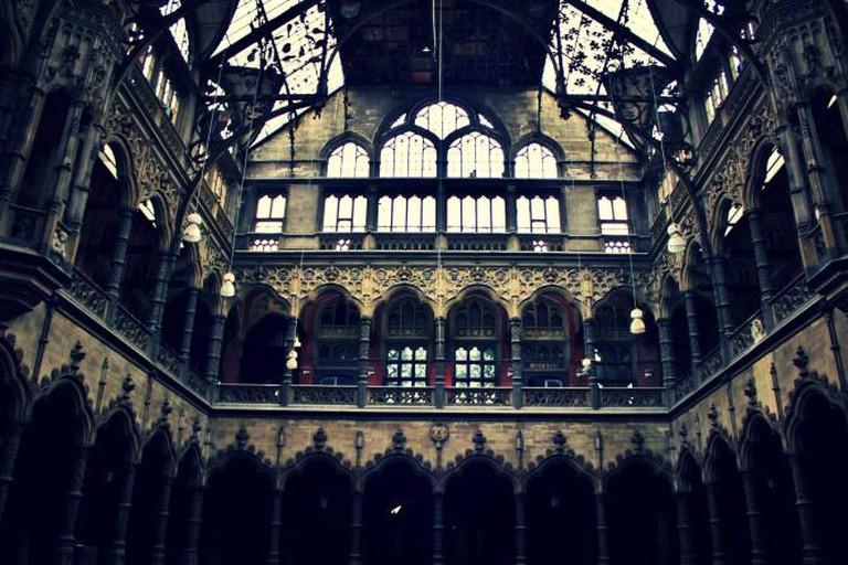 The Stock Exchange of Antwerp Interior | © Ioanna Sakellaraki