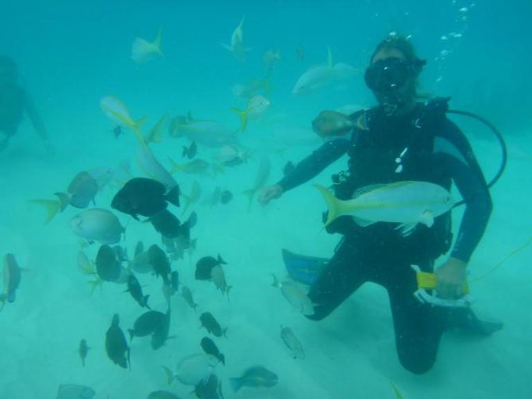 Scuba diving at San Juan | © Connie Ma/Flickr