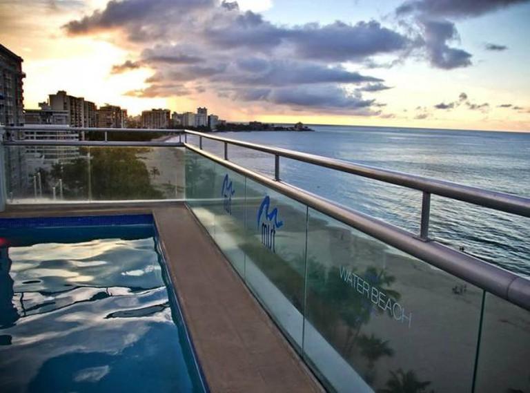 Mist Club Lounge l Courtesy of the San Juan Water Beach Hotel