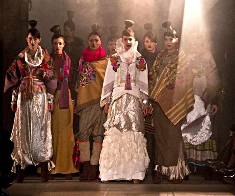 Finale of the Paisaje Mocheval collection   © Mauricio Rodriguez