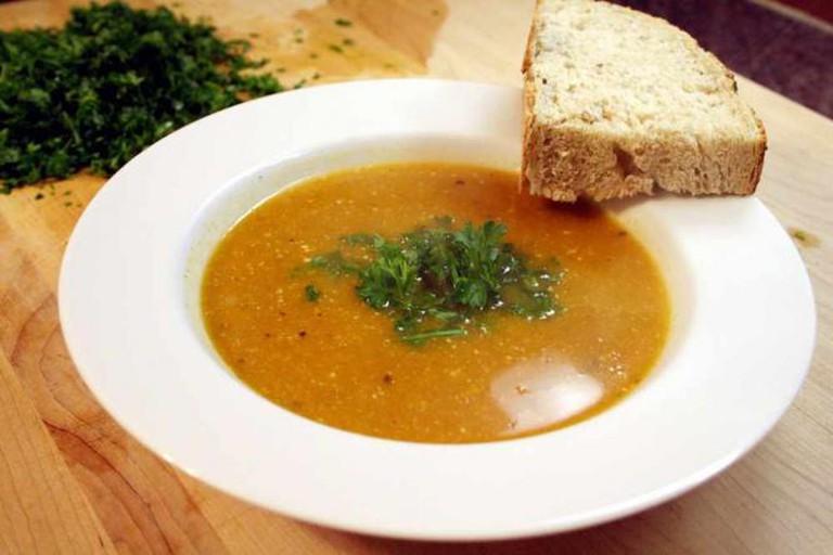 Soup and bread   © Matt and Rachel (The Sparveys)/Flickr