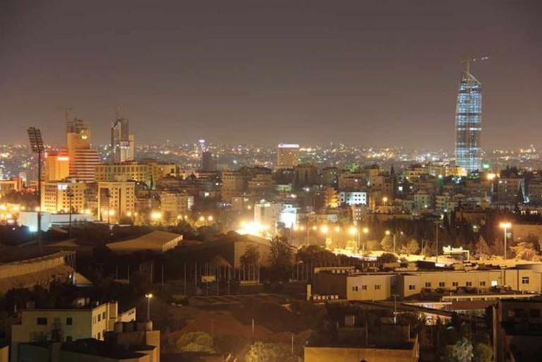 Amman at night   © Freedom's Falcon/Wikicommons