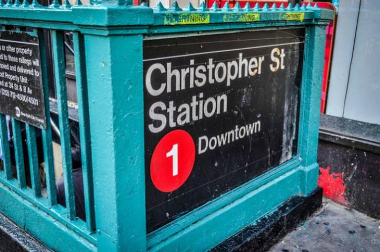 Christopher St. Station - Red 1 | © m01229/Flickr