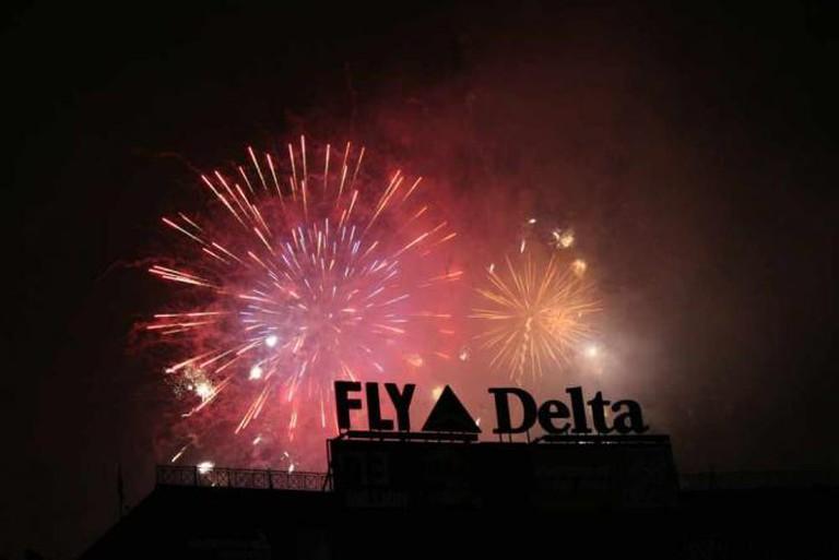 Fireworks, Turner Field | © Robert Occhialini/Flickr