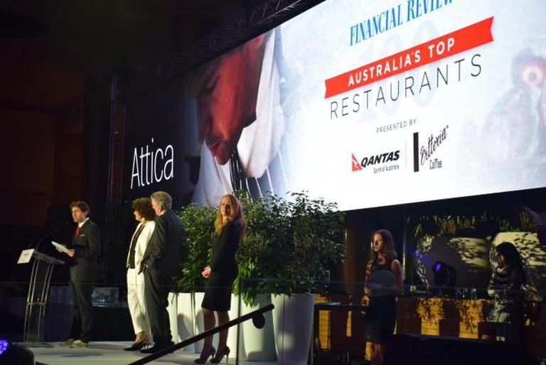 Number 2 on Australia's Top 100 Restaurants list - Attica