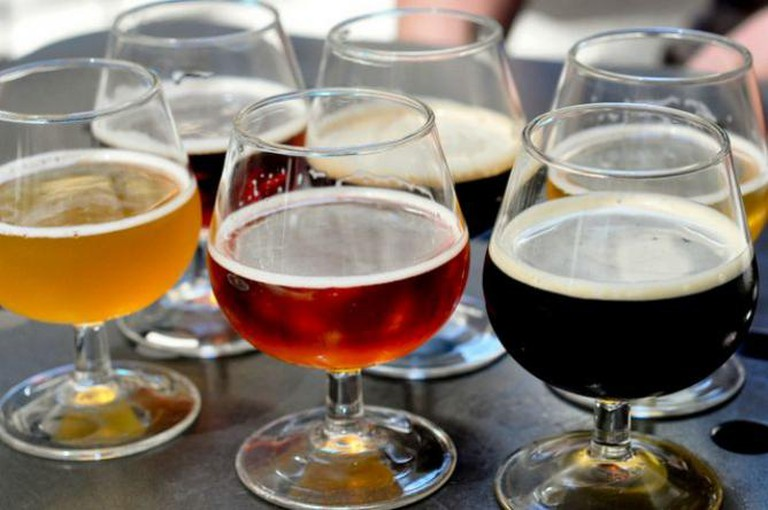 Beer Bistro Samplers | © Divya Thakur/Flickr