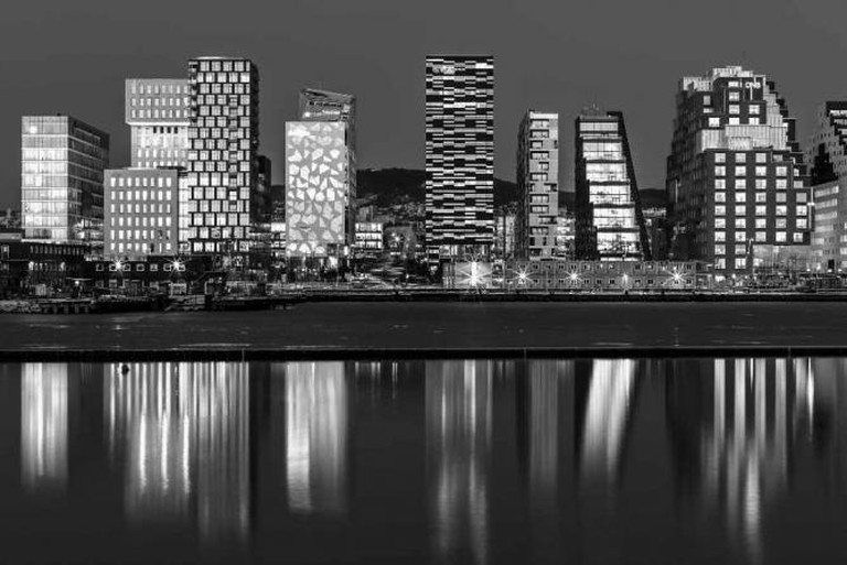 Oslo Skyline   © Tore Bustad/Flickr