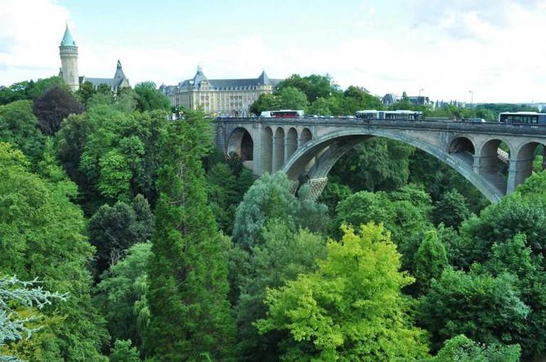 Luxembourg city | © VirtKitty