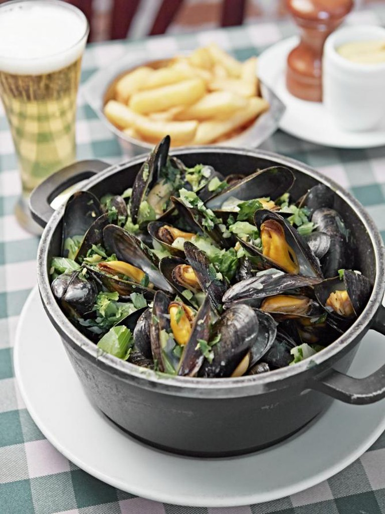 Casserole of Moules | Courtesy of Chez Léon